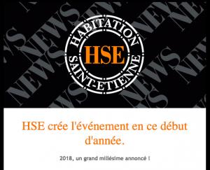 HSE CRÉE L'ÉVÉNEMENT EN CE DÉBUT D'ANNÉE