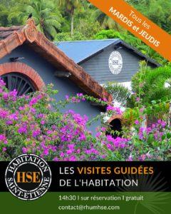 LES VISITES GUIDÉES DE L'HABITATION